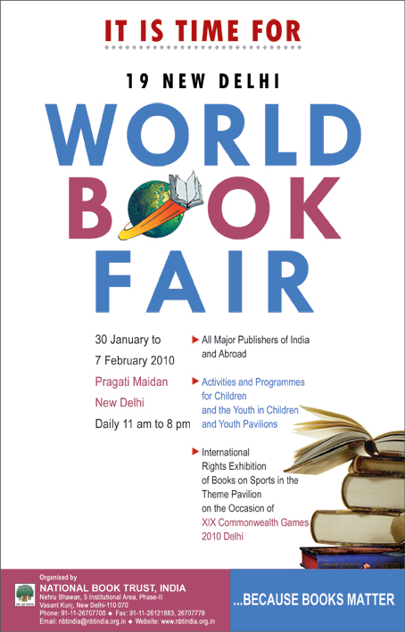 19th New Delhi World Book Fair 2010