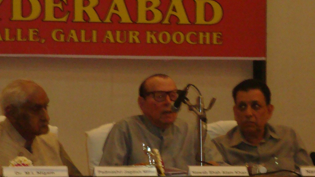 Nawab Ali Khan Saheb speaking.